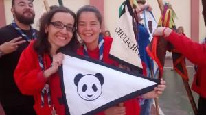 Banderin nuevo panda