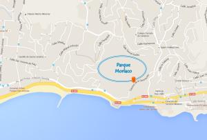Mapa Parque Morlaco